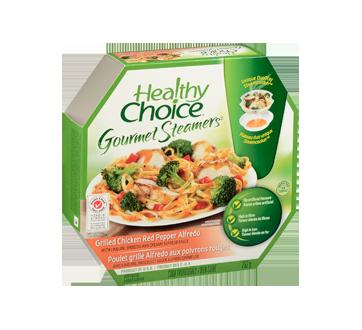 Image 2 du produit Healthy Choice - Gourmet Steamers poulet grillé alfredo aux poivrons rouges, 292 g