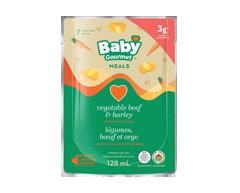 Image du produit Baby Gourmet - Légumes, bœuf et orge , 128 ml