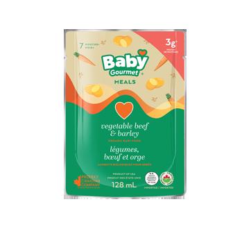 Légumes, bœuf et orge , 128 ml