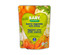 Image du produit Baby Gourmet - Légumes avec dinde, 128 ml