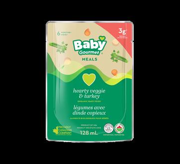 Légumes avec dinde, 128 ml