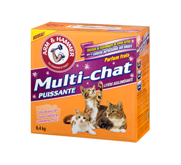 Multi-Chat Litière agglomérate pour chat, 6,4 kg, Multi-chat