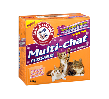 Image 2 du produit Arm & Hammer - Multi-Chat Litière agglomérate pour chat, 6,4 kg, Multi-chat