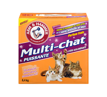 Image 3 du produit Arm & Hammer - Multi-Chat Litière agglomérate pour chat, 6,4 kg, Multi-chat