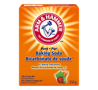 Bicarbonate de soude 250 g arm hammer aliment sec for Detartrage bicarbonate de soude