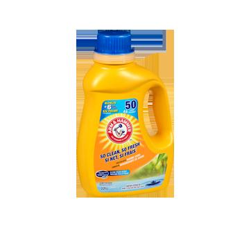 Image 2 du produit Arm & Hammer - Détergent à lessive liquide pour eau froide, 2,21 L, parfum frais
