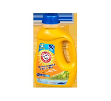 Image 3 du produit Arm & Hammer - Détergent à lessive liquide pour eau froide, 2,21 L, parfum frais