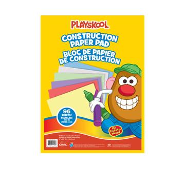 M. Patate papier de construction, 96 unités
