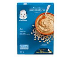 Image du produit Nestlé - Gerber céréales d'avoine, 227 g
