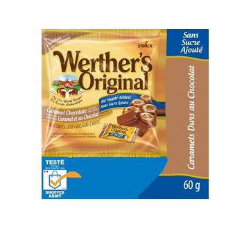 Bonbon dur caramel / chocolat SSA, 60 g, sans sucre ajouté