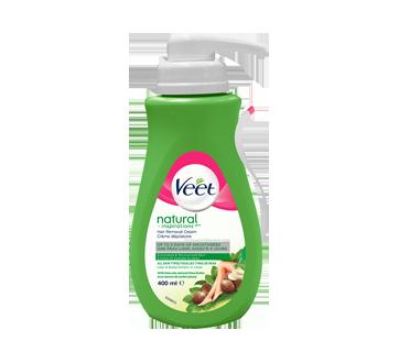 Natural Inspiration crème dépilatoire jambes et corps, peau normale et sèche, 400 ml