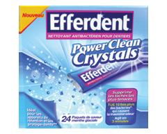 Image du produit Efferdent - Efferdent Power Clean Crystals, 24 unités