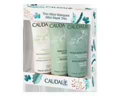 Image du produit Caudalie - Trio Mini Masques coffret cadeau, 3 x 15 ml