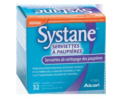 Image du produit Systane - Serviettes à paupières, 32 unités