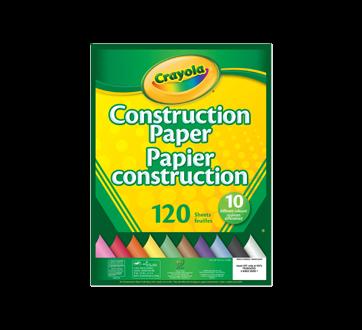Bloc de papier construction, 1 unité