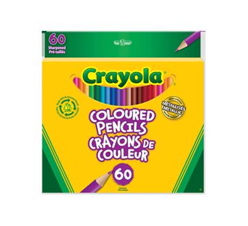 Crayons de couleur, 60 unités