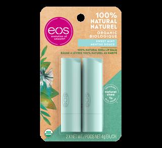 Smooth Stick baume à lèvres, 2 x 4 g, menthe douce