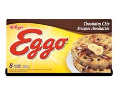 Image du produit Kellogg's - Eggo gauffres brisures chocolatées, 280 g