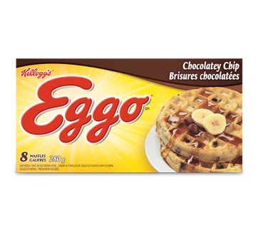 Eggo gauffres brisures chocolatées, 280 g