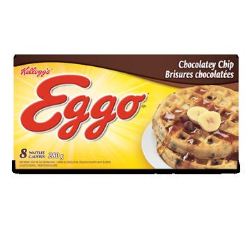 Image 2 du produit Kellogg's - Eggo gauffres brisures chocolatées, 280 g