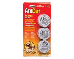 Image du produit Wilson - Ant Out trappes à fourmis, 3 unités
