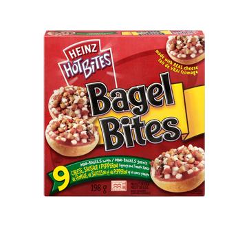 Bagel bites fromage, saucisse et pepperoni, 198 g