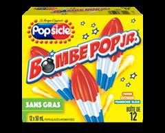 Image du produit Popsicle - Firecracker cherry bleu citron framboise pops glacés, 12 unités, cerise citron framboise bleue