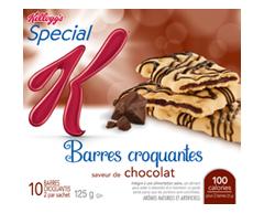 Image du produit Kellogg's - Special K barres croquantes au chocolat, 125 g