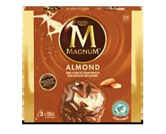 Image du produit Magnum - Amande barres de crème glacée, 3 unités, amande
