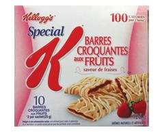 Image du produit Kellogg's - Special K barres croquantes aux fraises, 125 g