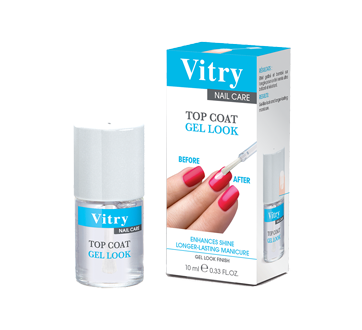 Image 1 du produit Vitry - Top Coat Gel Look, 10 ml, sans parfum