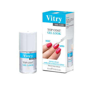 Image 2 du produit Vitry - Top Coat Gel Look, 10 ml, sans parfum