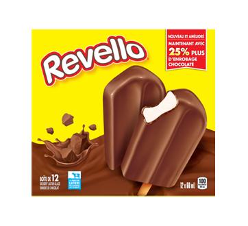 Barre de crème glacée, 12 x 60 ml, chocolat