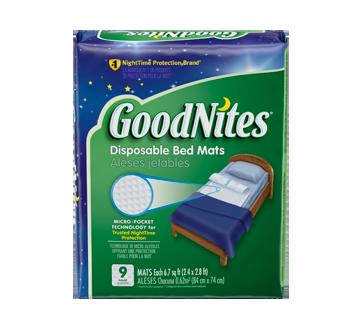 GoodNites alèse jetable, 9 unités