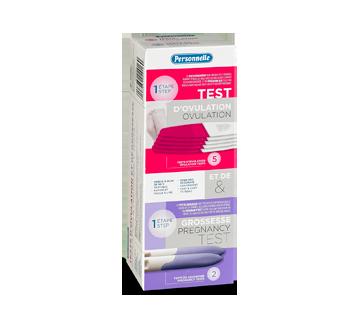 Image du produit Personnelle - Test d'ovulation et test de grossesse, 5 + 2 unités