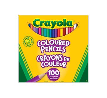 Crayons de couleur, 100 unités