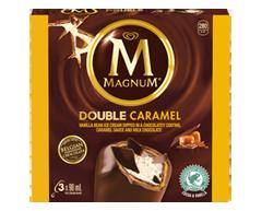 Image du produit Magnum - Barres de crème glacée double caramel, 3 x 90 ml