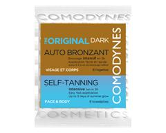 Image du produit Comodynes - Lingettes autobronzantes, 8 unités