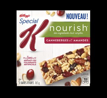 Special K Nourish barres canneberges et amandes, 165 g