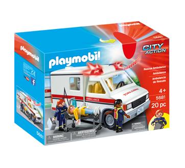 Ambulance, 1 unité