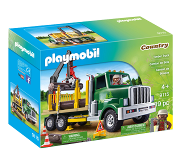 camion de bois ensemble de jeu 1 unit playmobil enfants et adultes jean coutu. Black Bedroom Furniture Sets. Home Design Ideas