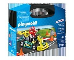 Image du produit Playmobil - Valisette pilote de karting, 1 unité
