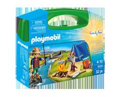 Image du produit Playmobil - Valisette campeurs, 1 unité
