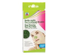 Image du produit PJC - Bandes nasales pour le nettoyage des pores, 4 unités, extraits de thé vert