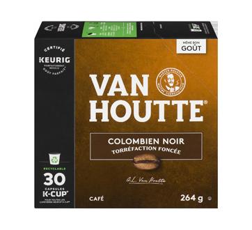 K-Cup capsules de café colombien, 30 unités, noir