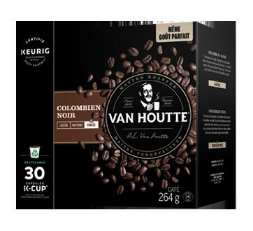 Image 2 du produit Van Houtte - K-Cup capsules de café colombien, 30 unités, noir
