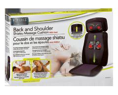 Image du produit HoMedics - Coussin de massage shiatsu dos et épaules avec chaleur, 1 unité