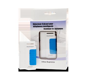 Image 1 du produit Alco Prévention Canada - i Alco Supreme détecteur d'alcool pour téléphones intelligents, 1 unité, Noir - Bleu - Rose