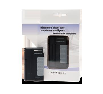 Image 2 du produit Alco Prévention Canada - i Alco Supreme détecteur d'alcool pour téléphones intelligents, 1 unité, Noir - Bleu - Rose