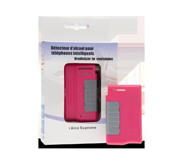 Image 3 du produit Alco Prévention Canada - i Alco Supreme détecteur d'alcool pour téléphones intelligents, 1 unité, Noir - Bleu - Rose